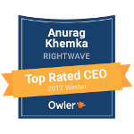 Owler CEO Award