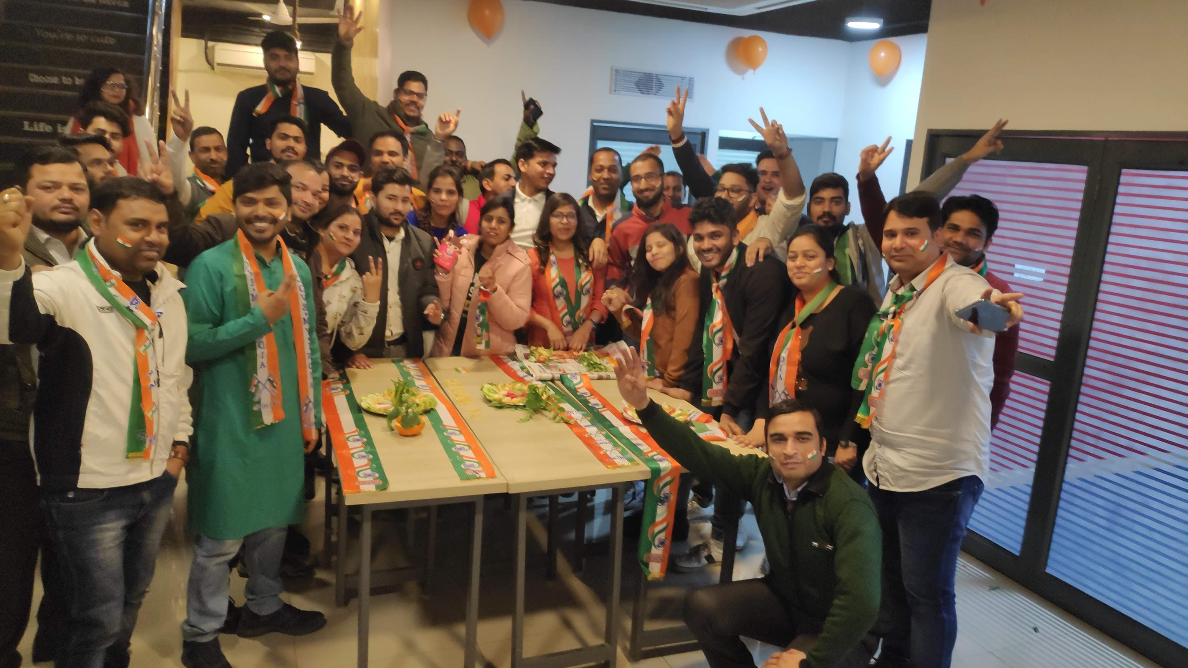 RightWave celebrates the 70th anniversary of India's Republic