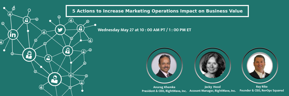 5 Actions to Increase Marketing Operations Impact